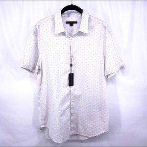 JOHN VARVATOS STAR Short Sleeve Button Down Shirt